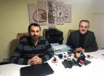 Belediye Meclis Üyemiz Numan DEMİRCAN'A hayırlı olsun ziyareti